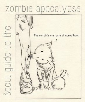 Scouts Guide to the Zombie Apocalypse by huguett