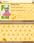 PKMN Crossing App - Petal by Yufika