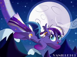 In the sky by vanille913