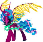 Mystery Evolving Pony Adoptables -Hell Stage4- by Sakuyamon