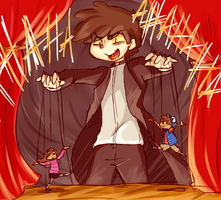Bippers Puppet Show by bee-chan1