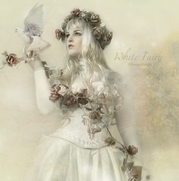 White Fairy by ROSASINMAS