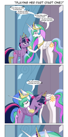 Playing Her Part, Part One by DeusExEquus