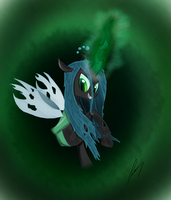 Queen Chrysalis by SadnessGuy