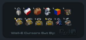 Wall-E Static Cursors 1 Ver 1-0 by PixelOz