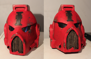 Life-Sized Space Marine Helmet by Captain-Asparagus