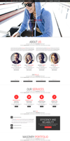 Esatto - One Page Responsive Bootstrap Template by DarkStaLkeRR
