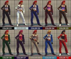 C. Viper Colour Pack - SF4 Mod by Jiggeh