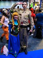 Anna and Rimmer by ZeroKing2015