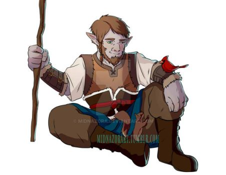 Firbolg Cleric by midnazora