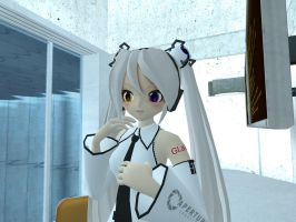 Human GLaDOS in Gmod by GlitchyProductions