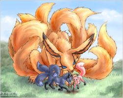 Team Seven foxes - DIG DIG DIG by askerian