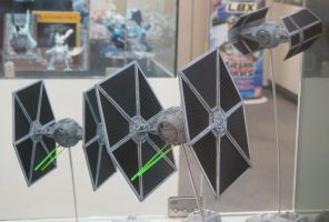 Black Squadron TIE Fighters by rlkitterman