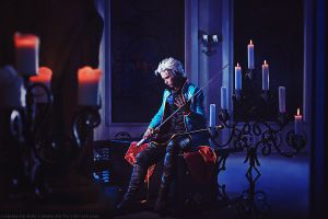 Waiting - Devil May Cry 3: Vergil by Narga-Lifestream
