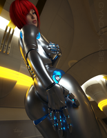Gynoid 0x38 by TweezeTyne
