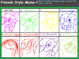 Style meme ( again ) by howlingnightmare