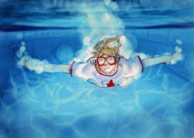 APH: diving by a-lonely-me