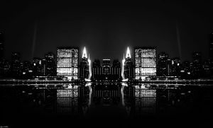 City Lights BW by abdelrahman