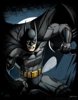 Batman Arkham by el-grimlock