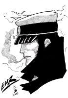 Corto Maltese Sketch by E-M-R