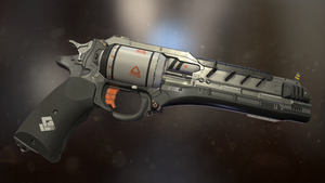 Sci-fi revolver by PowerPointRanger