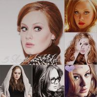 5 Photoshoots de Adele by TutorialesDream