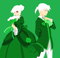 Green-Servant of evil by peppermix14
