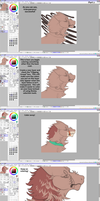 How to digitally color traditional art - Part 2 by mute-owl