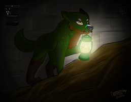 Commission: Into the dark by CrEEdEncE004