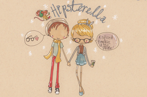 Hipsterella by Pinkie-Perfect
