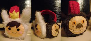 Where The Wild Things Are - earmuffs by Bee-Delicious