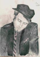 Tom Waits by vanDara