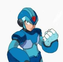 Megaman X from MMX7 COLORED by X-Club