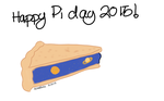 a pie for pi day by avarenity
