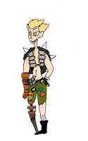 Junkrat by TheWordInstantly
