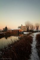 The old mill by massimomalvestio
