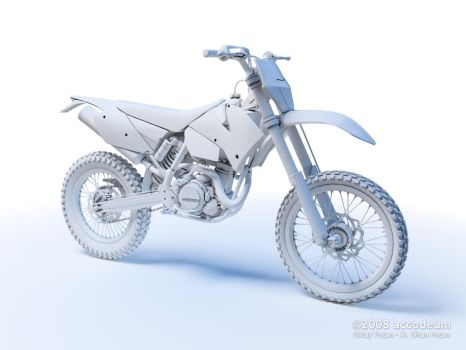 KTM 450EXC Clay WIP by oktaypocan