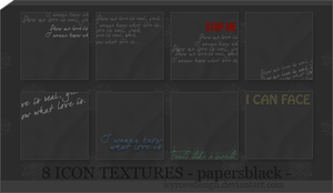 IconTextures100x100_papersb by icyrosedesign