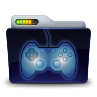 Games Folder Icon by zeaig