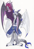 CSC: Daliah and Aaron by ChaosTearKitsune
