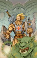 He-Man Colored FNL by acosorio