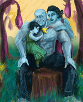 Drax and family by HILLYMINNE