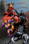 Red Hood and the Outlaws Colors by jakekless