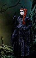 The Evil Gothic Queen by Jumpfer-Stock