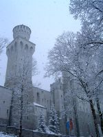 Castle in the snow stock II by RxC-Stock