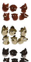 Ginga Expression Thingy by Whitelupine