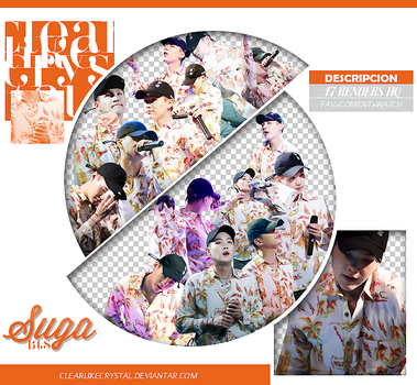 #068 | Pack Png | Suga | BTS by clearlikecrystal