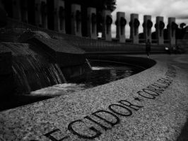 WWII Memorial I by Printed-Shadows