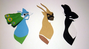 A Peacock, Antelope and Orca went to sea... by incatern