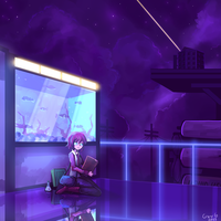 [Commission] science festival by NightMargin